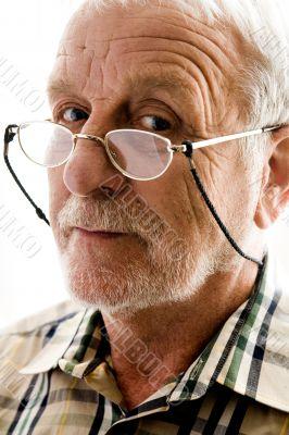 Very interested older man