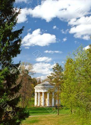 Beautiful classical rotunda in the park