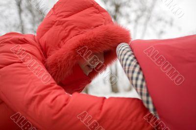 Girl in Red Hood