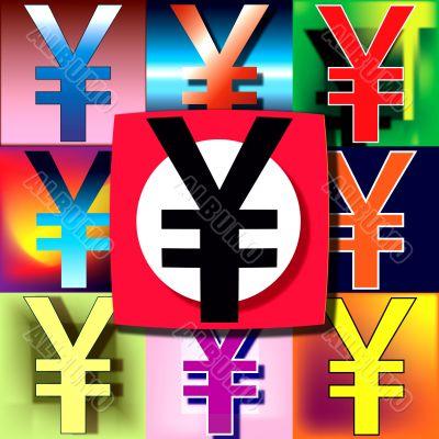 Yen POP flag