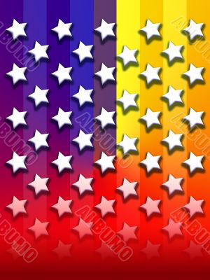 Primary Rainbow stars & stripe