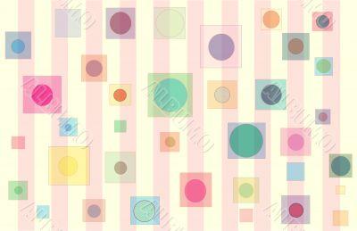 Baby Square circles