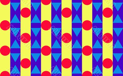 Triangles, Circles and stripes