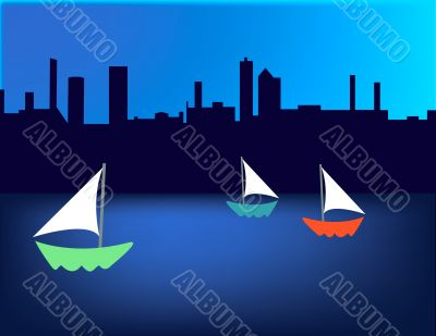 Sailboat Skyline