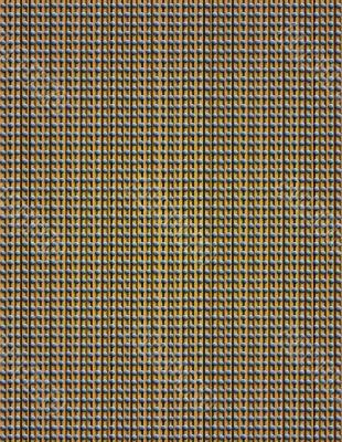 Pinstripes & blue Dots