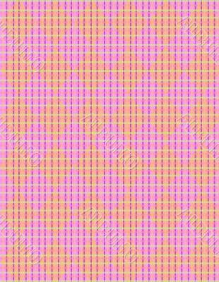Spring basket argyle weave