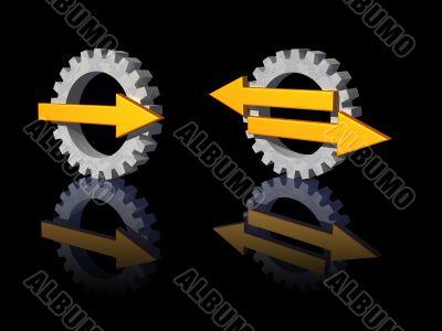 gear pointer logo