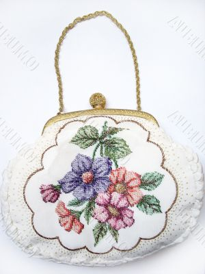 Retro woman's bag