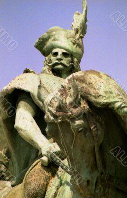 Statue of Hungarian Hero
