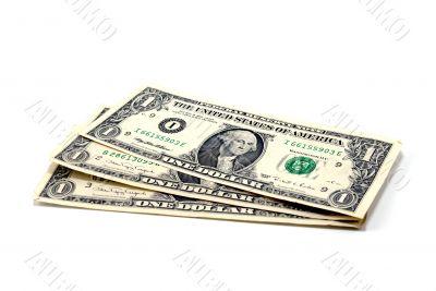 Three denominations on one dollar