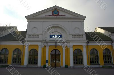 Railway station - Archeda. The city of Frolovo, the Volgograd ar