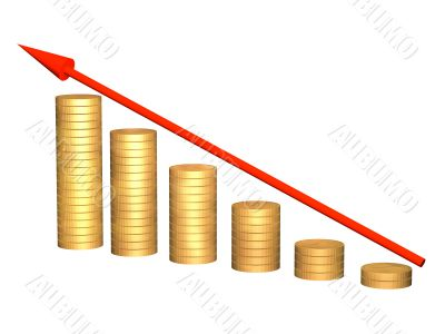 Conceptual image - growth of money resources