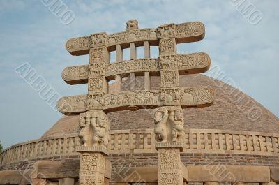 Stupa Gates in Sanchi