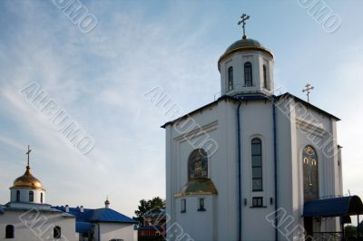 Brand New Russian Orthodox Monastery