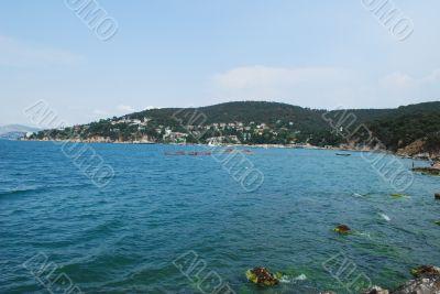 Princes` Island in sea of Marmara
