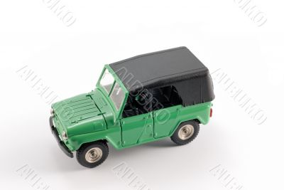 Collection scale model the Off-road car