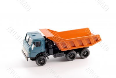 Collection scale model of the Dumper truck