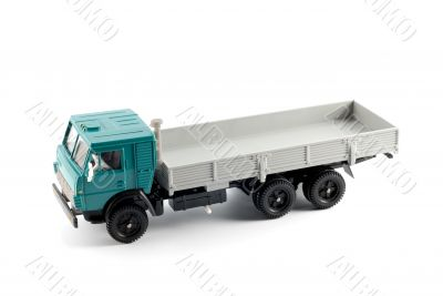 Collection scale model of the Onboard truck