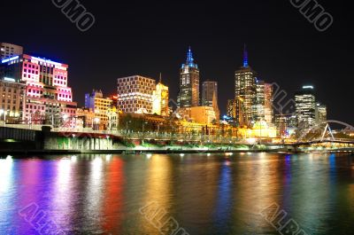 Melbourne City Skyline