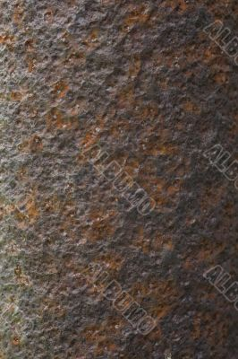 Rusted old metall background