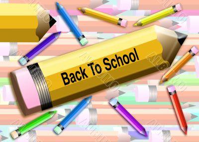 Back to school Pencils