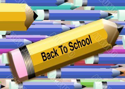 Back to school Pencils 3