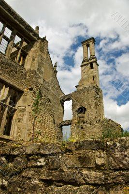Ruined manor house