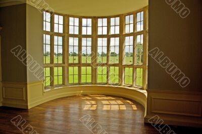 Classic bow window