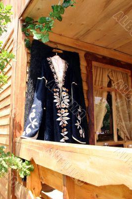 National clothes of Caucasus.