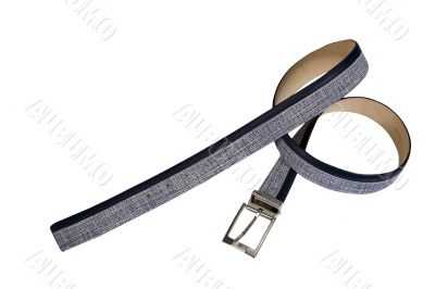 convolute grey belt with texture