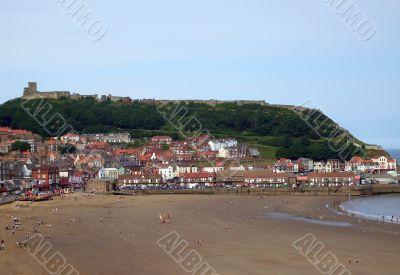Seaside scenery England