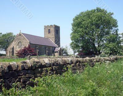 Church in countryside
