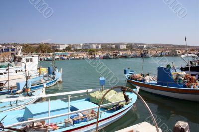 Ayia Napa Harbor Cyprus