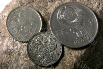 russian and USSR coins