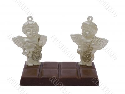 Angels on Milk brown chocolate