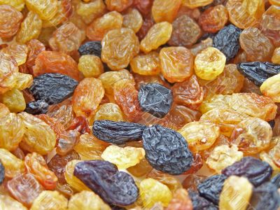 Different raisins