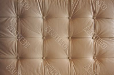 Comfortable Buttoned Leather Pattern