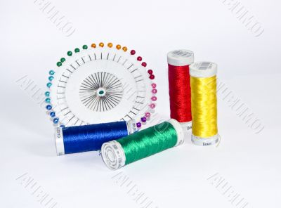 Thread and a pin 1