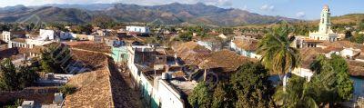 Old town Trinidad, Cuba,  Panorama - 1