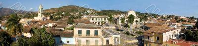 Old town Trinidad, Cuba,  Panorama - 2