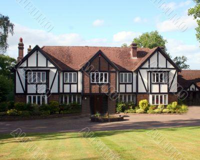 British Tudor Home