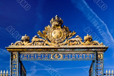 Gate to Versailles