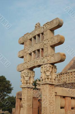 Stupa Gates at Sanchi