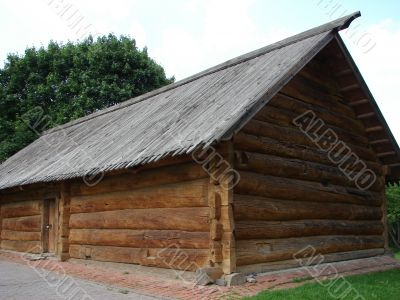 Greater rural log hut