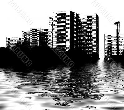 Skyline flood
