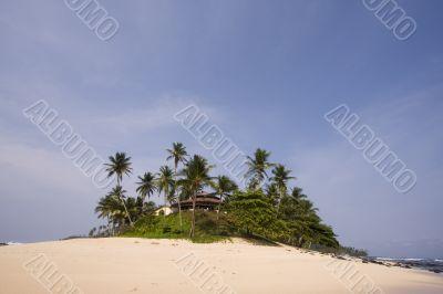 summer paradise resort