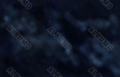 Digital created starfield with Milky Way nebula
