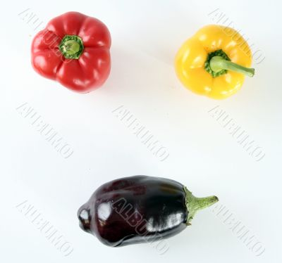 Shiny peppers