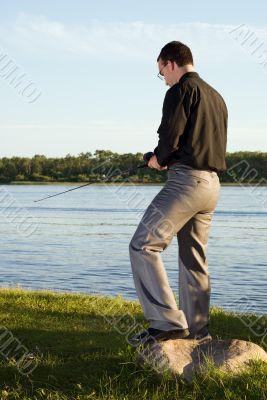 Hobby Fisherman