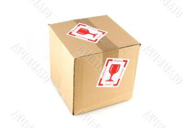 fragile filled box